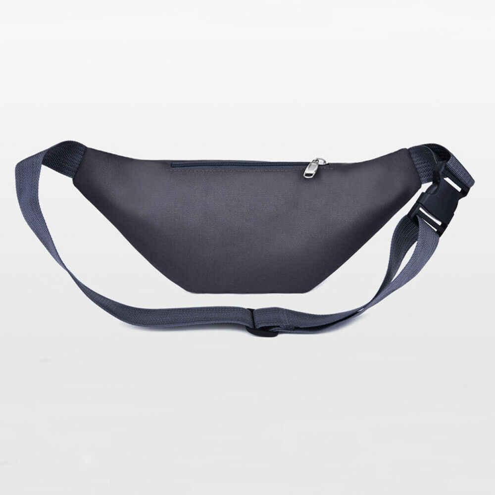 Nuovi Uomini di Modo Delle Donne Della Vita Bum Bag Pacchetto di Fanny Cintura Soldi Del Sacchetto Del Raccoglitore Zip Viaggi Escursionismo Bag Nero Blu Rosso grigio