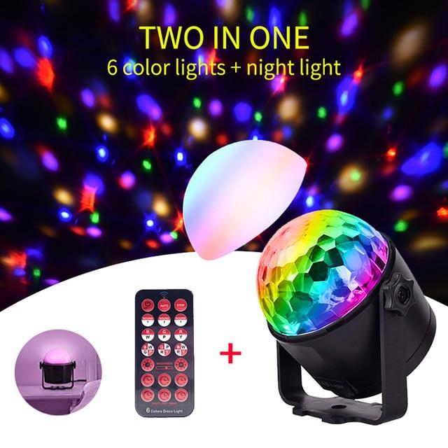 Disco Dj Licht Dmx Podium Verlichting Moving Luces Led Par Disco Bal Strobe Licht Kerst Halloween Decoraties Projector Voor Thuis