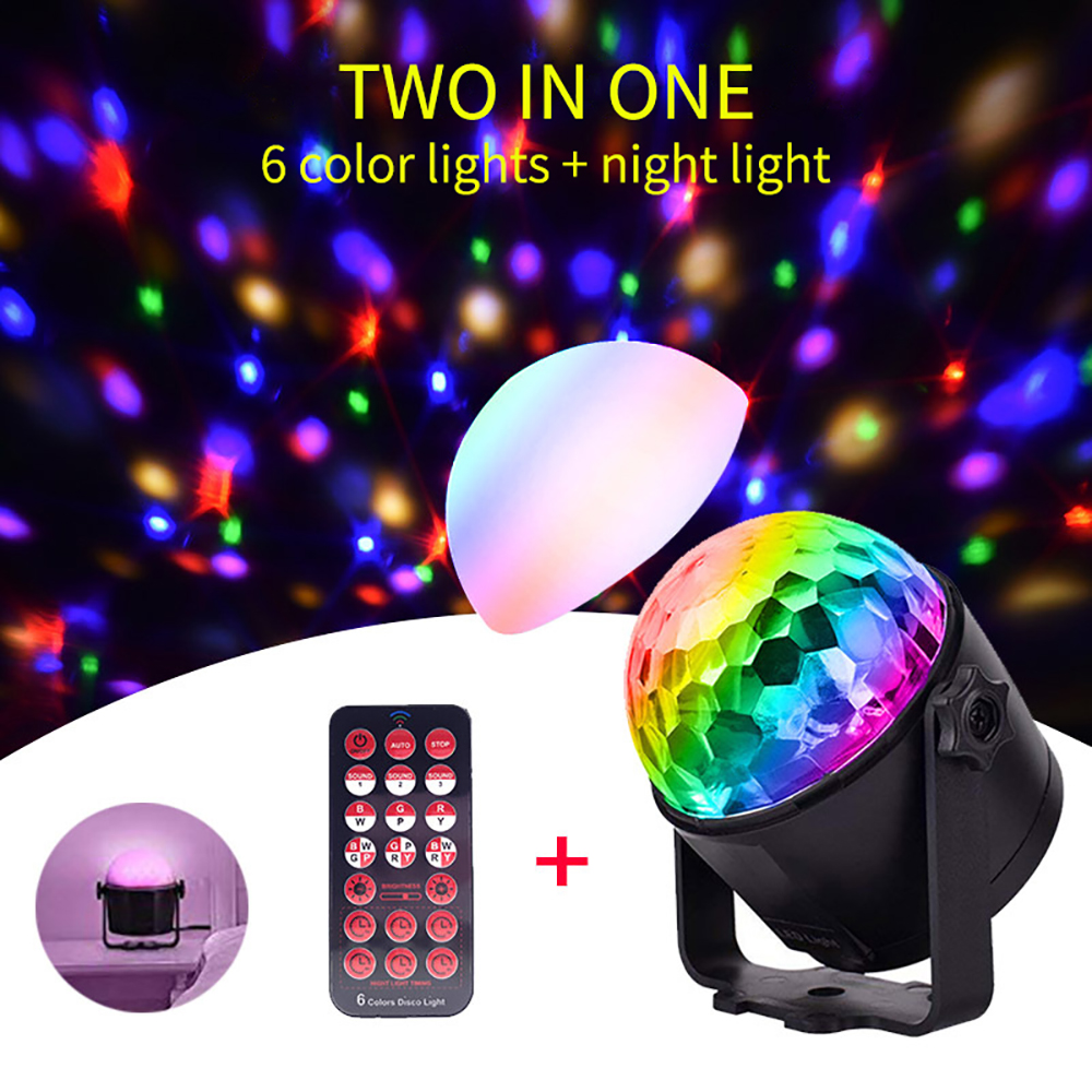Disco Dj Light Dmx Stage Lights Moving Luces Led Par Disco Ball Strobe Light Christmas Halloween Decorations Projector For Home