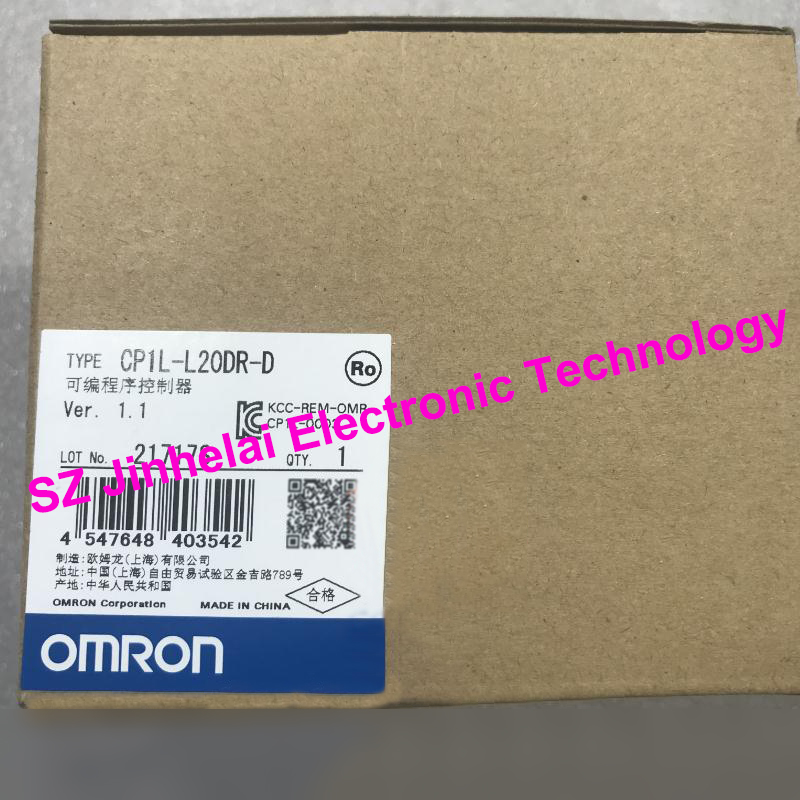 100% New and original CP1L-L20DR-D OMRON Programmable controller