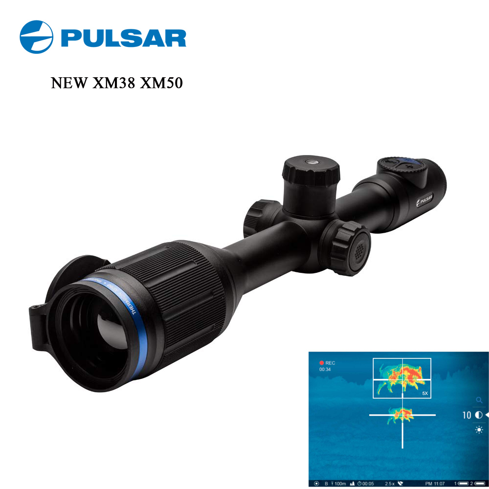 Thermal Imager For Hunting Sight Pulsar XM38 The Night Vision Pulsar ThermionPulsar Thermion XM Thermal Riflescope Thermal Rifle