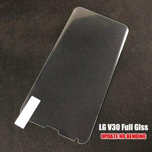 Image 5 - Akcoo 3D Curved Tempered Glass For LG V30 V40 G7 G8 V50 ThinQ Screen Protector Film UV Liquid full glue film for LG H930 film