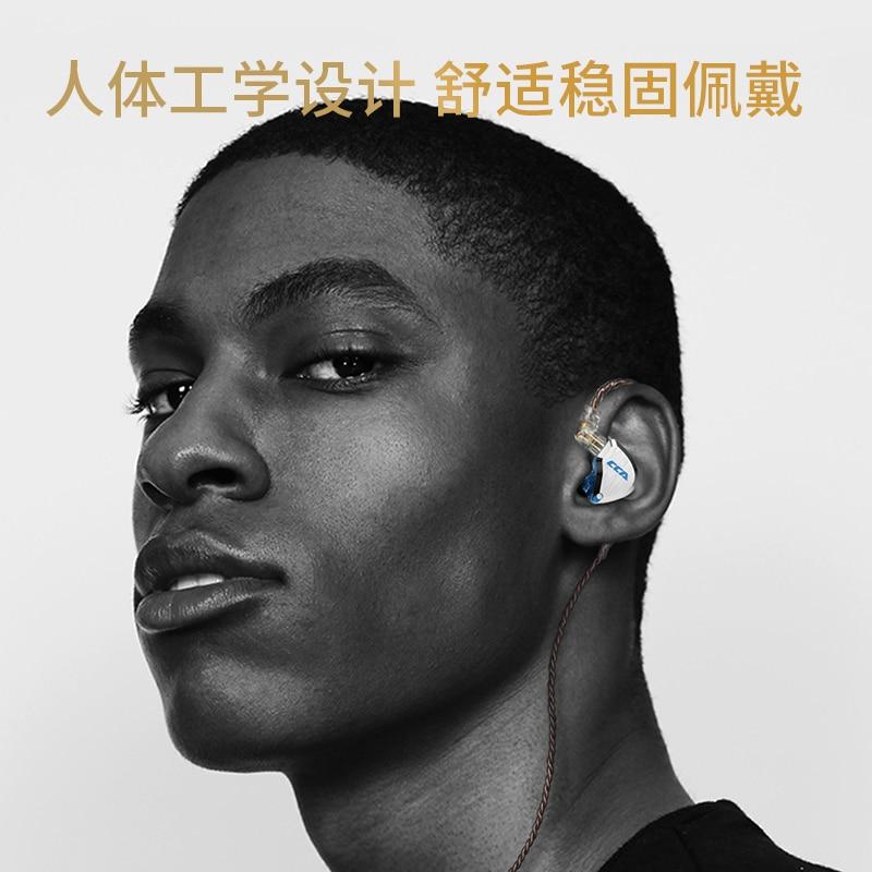 2019 CCA C12 5BA 1DD Hybrid In Ear Headphone 12 Drivers Unit HIFI DJ Monitor Earphone Earbuds KZ ZSX AS10 ZST CCA C10 C16 in Bluetooth Earphones Headphones from Consumer Electronics