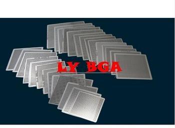 27pcs Universal  Direct Heating BGA Stencil for chips reballing 1pcs brand new fnp102 b1e31 bga chips
