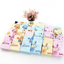 2 Layers Pure Cotton Muslin Baby Towel Baby Face Towel NewBorn Saliva Towel Feeding Scarf Square Handkerchief Baby Stuff Z167(China)