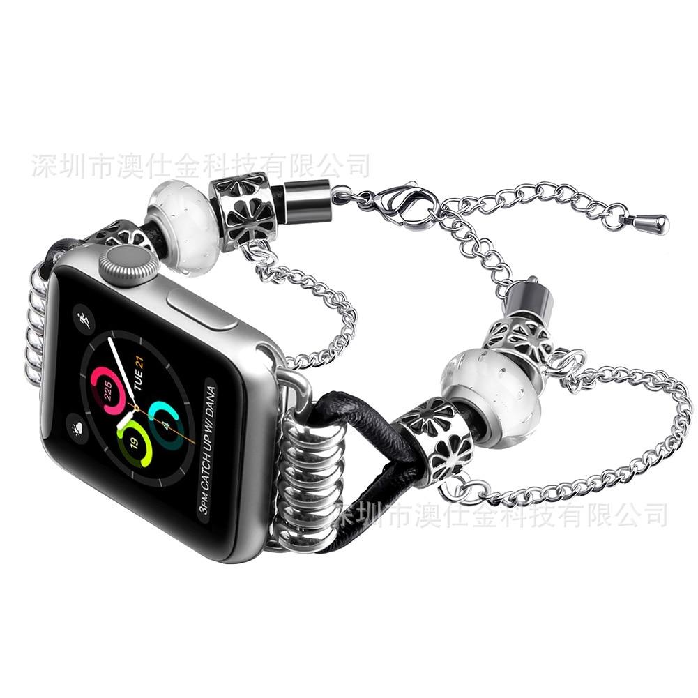 For Apple Watch Pandora Women's Jewelry Watch Strap 2018 Fashion New Style