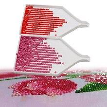 10 шт. 5D DIY инструмент для алмазной живописи аксессуары для алмазной вышивки Большая емкость Большая буровая пластина пластиковый лоток большие наборы подарков