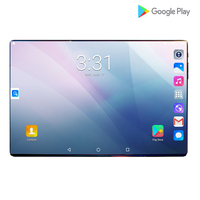 Newest 10inch Tablets PC 4G LTE 2.5D Tempered Glass 6000mAh Android 9.0 OS A GPS Wifi 6GB RAM 64GB ROM IPS Octa Core Tablet 10.1