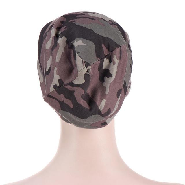 Фото новый принт в мусульманском стиле цветочный головной убор кепка цена