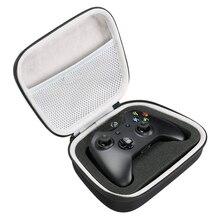 Estuche rígido de EVA para Xbox One/ One S/ One X, bolsa de almacenamiento portátil con bolsillo de malla, compatible con enchufe y Cable