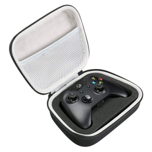 New EVA Hard Case Travel Carrying Portable Storage Bag for Xbox One/ One S/ One X Controller with Mesh Pocket Fits Plug & Cable