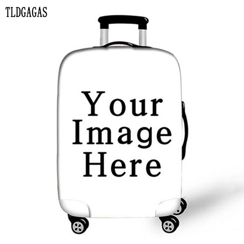 Elastic Luggage Protective Cover Case For Suitcase Protective Cover Trolley Cases Covers 3D Travel AccessoriesUnicort Pattern 10