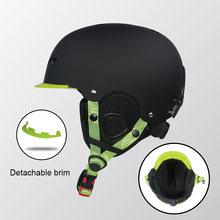 Зимний лыжный шлем для мужчин женщин детей скейтборд сноуборд
