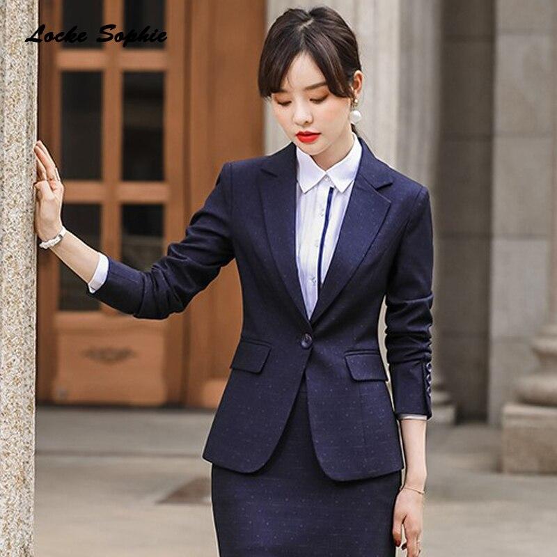 1pcs Women's Plus Size Blazers Coats 2020 Spring Cotton Plaid Slim Fit Long Sleeve Jackets Ladies Skinny Small Blazers Suits