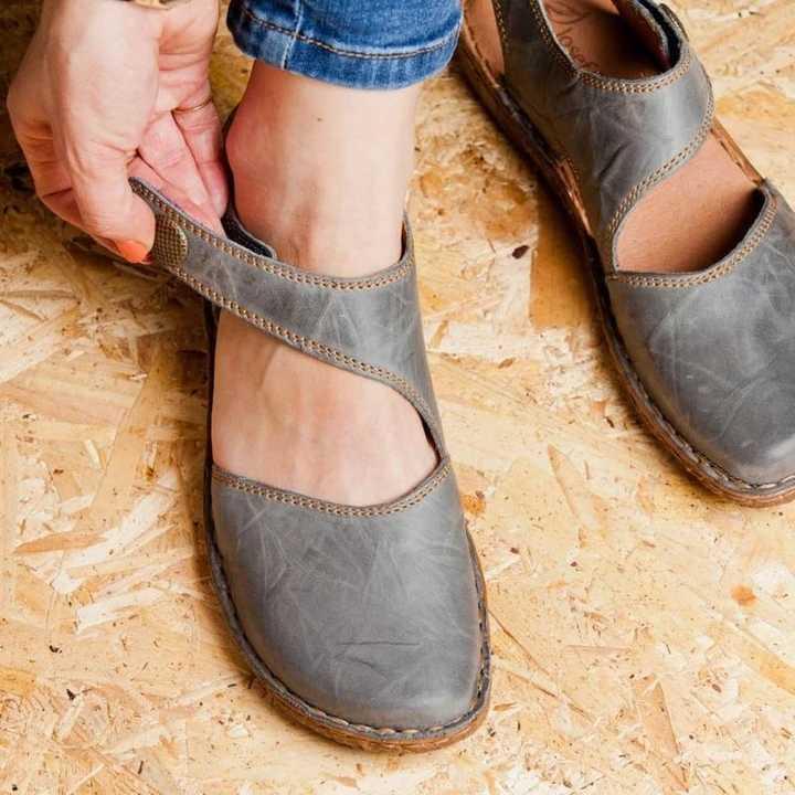 2019 Zomer Mode Vrouwen Sandalen Retro Platte Sandalen Dames Galdiator Schoenen Vrouwelijke Schoenen Casual Zachte Flats Footwear