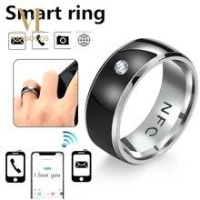 NFC умное кольцо на палец многофункциональное интеллектуальное кольцо для телефона Android