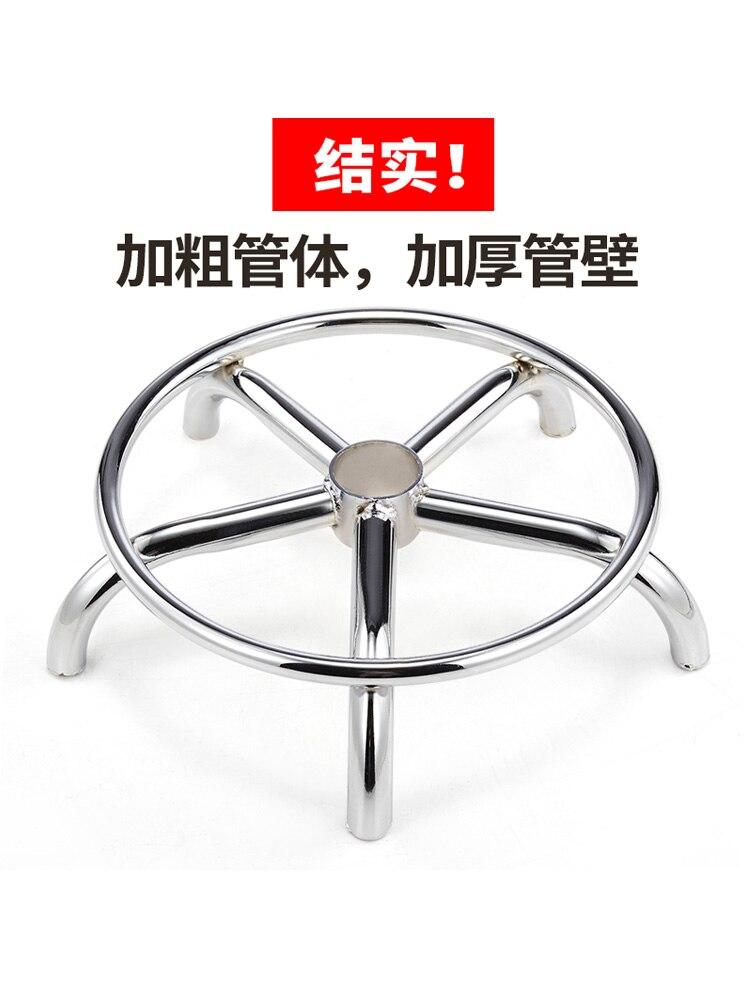 Барный стул из полиуретана, подъемное кресло для красоты, вращающееся парикмахерское кресло с безопасной пневматической штангой, Высокопрочное нейлоновое железное колесо