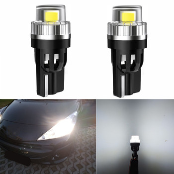 2x W5W LED T10 LED Bulbs Canbus For Car Parking Position Lights Interior Map Dome Light For Audi A3 8P A4 6B BMW E60 E90 E39 F10 image