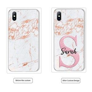 Image 5 - Lovebay diy名カスタム電話iphone 11 プロ 6 6s 7 8 プラスx xr xs最大 5 5s、seファッションカスタマイズ大理石ソフトtpuカバー