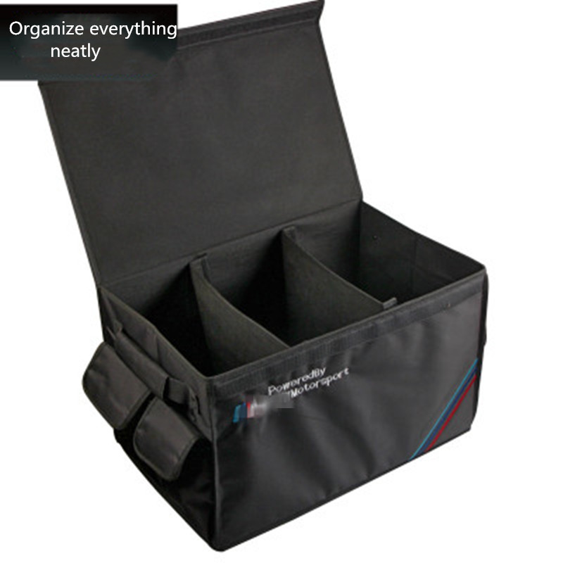 Universal Auto Products Car Trunk Organizer Collapsible Cargo Multi Bag