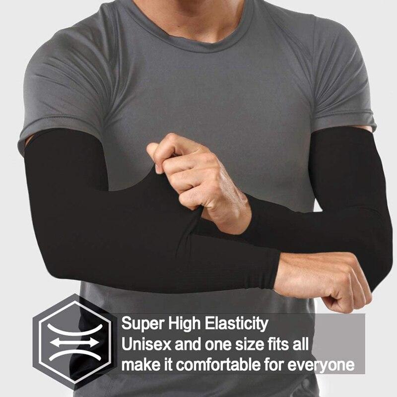 Летняя Солнцезащитная вискозная манжета для подледной езды, спортивные рыболовные рукава для защиты рук для мужчин и женщин