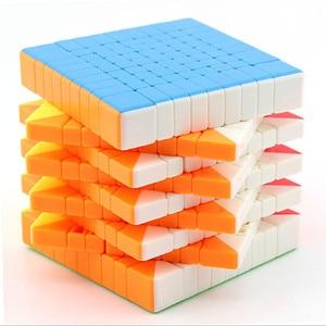 Image 4 - Moyu Meilong 9x9x9 Magic cube 6x6x6 7x7x7 8x8x8 speed cube 6x6 7x7 8x8 9x9 cubo magio puzzle MF8