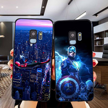 Marvel Iron Man For Samsung Galaxy S6 S7 Edge S8 S9 S10 Plus Lite Note 8 9 10 A30 A40 A50 A60 A70 M10 M20 phone Case Cover coque(China)