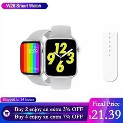 W26 + Smart Uhr 1,75 Zoll Bildschirm Bluetooth Smartwatch männer Damen Paar Bildschirm Angepasst Zifferblatt für Apple Android Huawei xiaomi