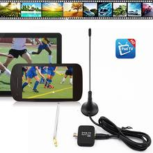 TV Stick DVB-T2 HD Digital TV Tuner Satellite Receiver Tablet Pad TV HDTV Dongle with Micro USB for All Android Mobile Phone(China)