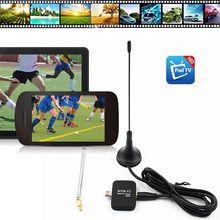 TV Stick DVB-T2 HD cyfrowy Tuner telewizyjny odbiornik satelitarny Tablet Pad TV HDTV Dongle z Micro USB dla wszystkich telefonów komórkowych z systemem Android tanie tanio WAPUNO Brak w zestawie Wysokiej rozdzielczości 100 gb 1080 p (full hd) HD Digital TV Receiver USB DVB-T2 TV Stick