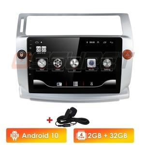 2G+32G Android 10 Car Radio for Citroen C4 C-Triomphe C-Quatre 2004-2009 car dvd player car accessory 4G multimedia(China)