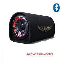 5 Polegada alto-falante de áudio do carro 12v 220v max 100watts 4 ohm alta fidelidade bluetooth motor ativo van caixa do crescimento altifalante subwoofer