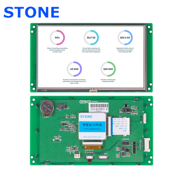 цена на STVA070WT-01 STONE HMI 7.0 inch Intelligent TFT LCD Touch Module with 3 Year Warranty