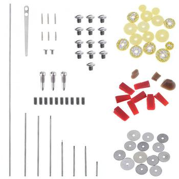 83pcs/lot Flute Repair Parts Set Complete Tools Flute Sound Hole Mat Pad Roller Screws Reed Wind Instrument Repair Kit Hot недорого