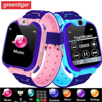 S11 inteligentny zegarek dla dzieci muzyka gra Smartwatch inteligentny zegarek tętna wodoodporny dziecięcy Smart Watch SOS zegarek dziecięcy grać w grę muzyka zegarek chłopcy dziewczęta tanie i dobre opinie greentiger CN (pochodzenie) Brak Na nadgarstku Wszystko kompatybilny 128 MB Wybierania połączeń Budzik Kalkulatory