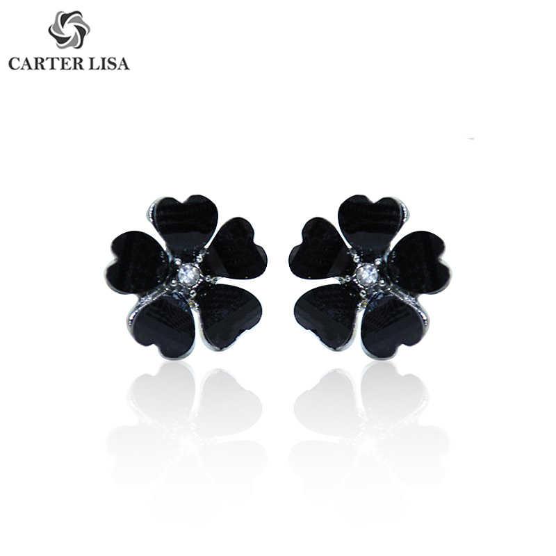 카터 리사 여성을위한 새로운 패션 달콤한 캔디 컬러 꽃 귀걸이 소녀 2019 보석 Bijoux 우아한 선물 도매