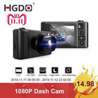 """HGDO 2 """"voiture DVR Mini tableau de bord caméra Full HD voiture caméra caméscope 1080P Dvrs Vision nocturne enregistreur vidéo autoregistre Dashcam"""