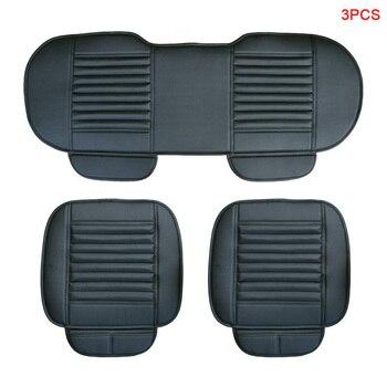 Pu Leather Car Seat Cover 3PCs Auto Accessories for Infiniti Fx Fx35 Fx37 G35 Q50 Q70 Q70l Qx60 Qx70 Car Seat Protector