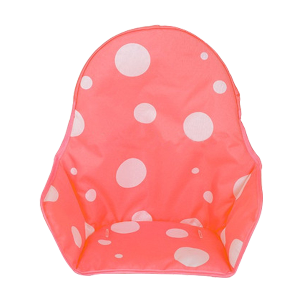 Booster Mats Foldable Kids High Chair Cushion Outdoor Stroller Feeding Polka Dot Universal Waterproof Oxford Portable For Baby