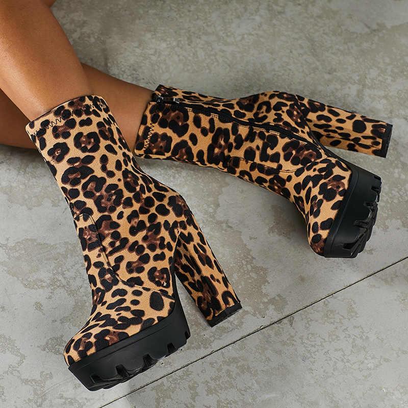 Plus Size Boots 2020 Women 12.5cm High