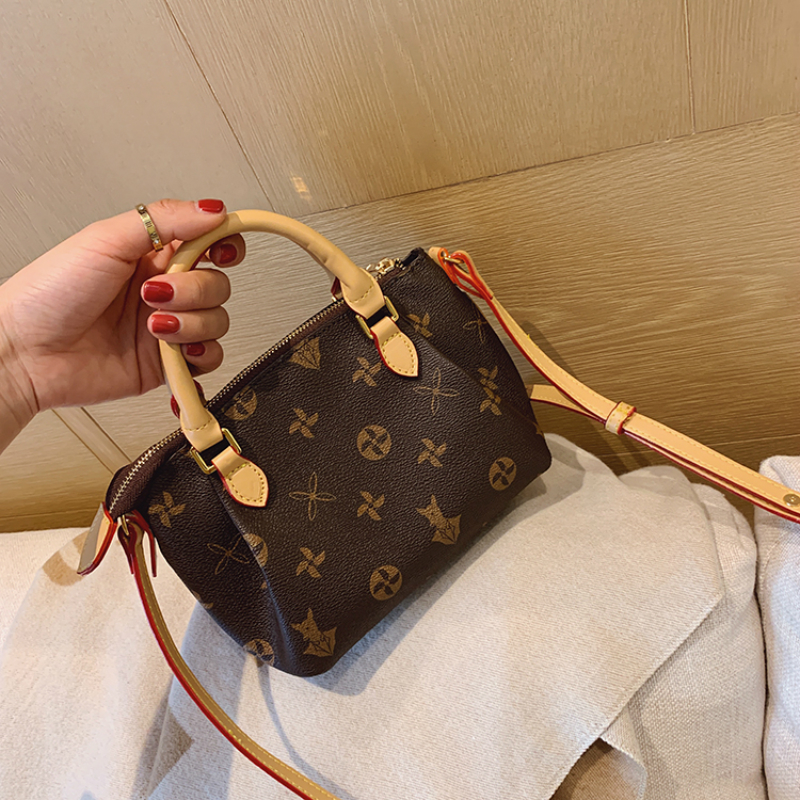 Fashion Vintage Flower Pattern Handbags Classic Printing Shoulder Messenger Bags High-quality Crossbody Bags Louis Brand CC GG
