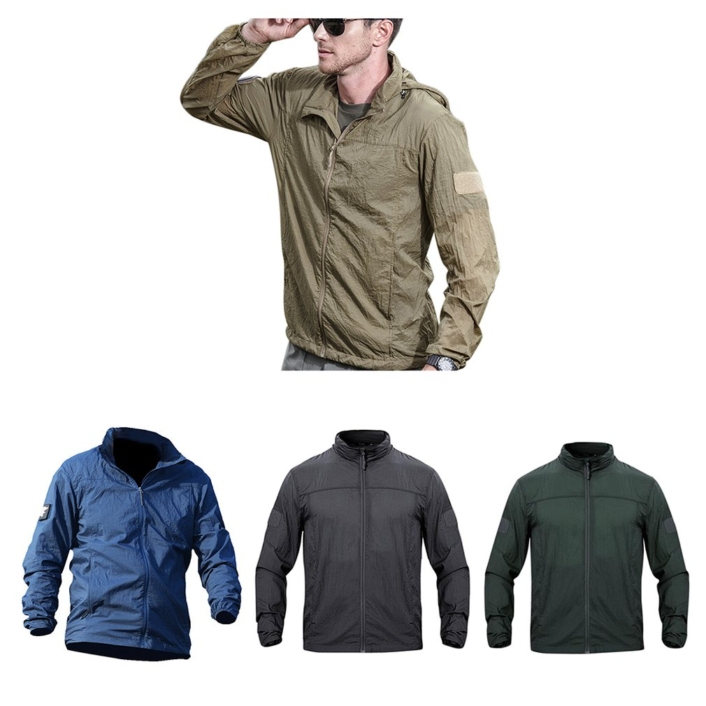 Clothing Jacket Windbreaker Skin Sun-Protection Tactical Outdoor Lightweight Material title=