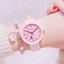 Fashion Kids Watch Lovely Colorful Creative Strawberry Carto
