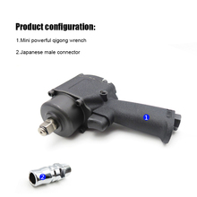 цена на Mini Pneumatic/Air Impact Wrench Air 1/2 inch Twin Hammer Air Car Repairing Impact Wrench Cars Wrenches Tools