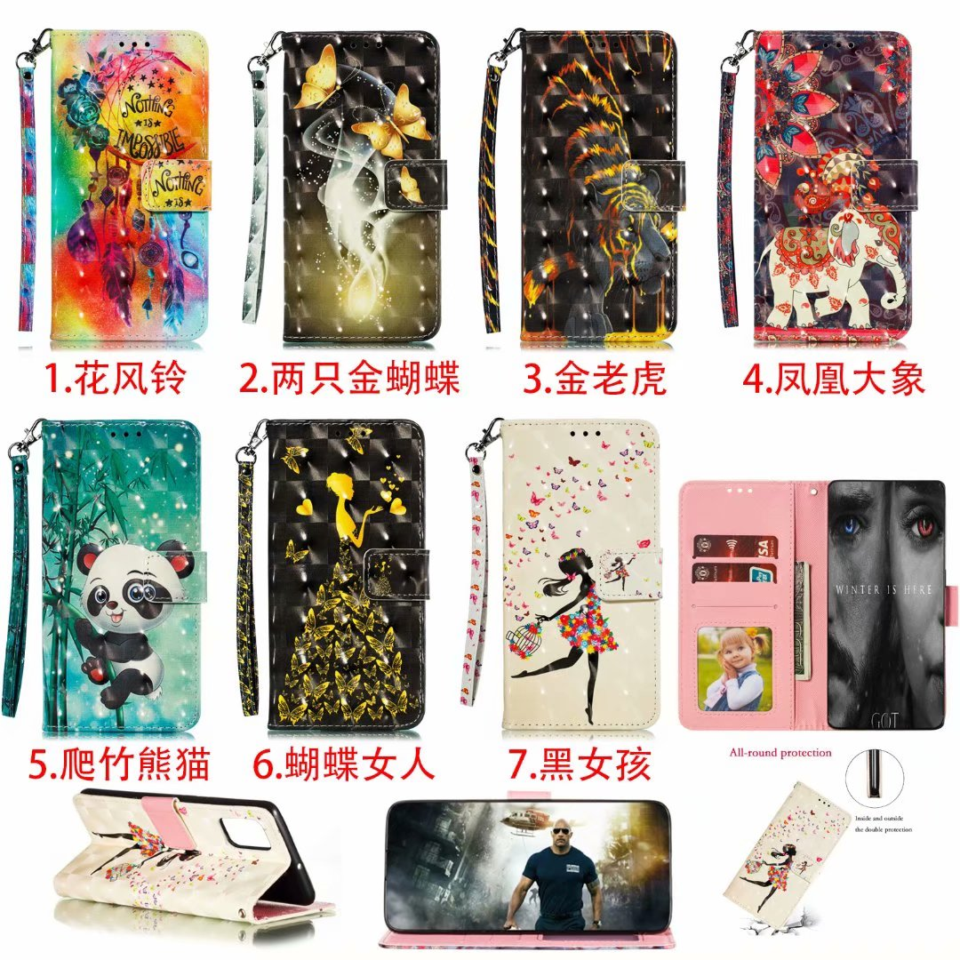 Leather Phone Flip Case Coque For LG STYL04 STYL05 Wallet Glitter Silicon Anti-Fall Shockproof Cover