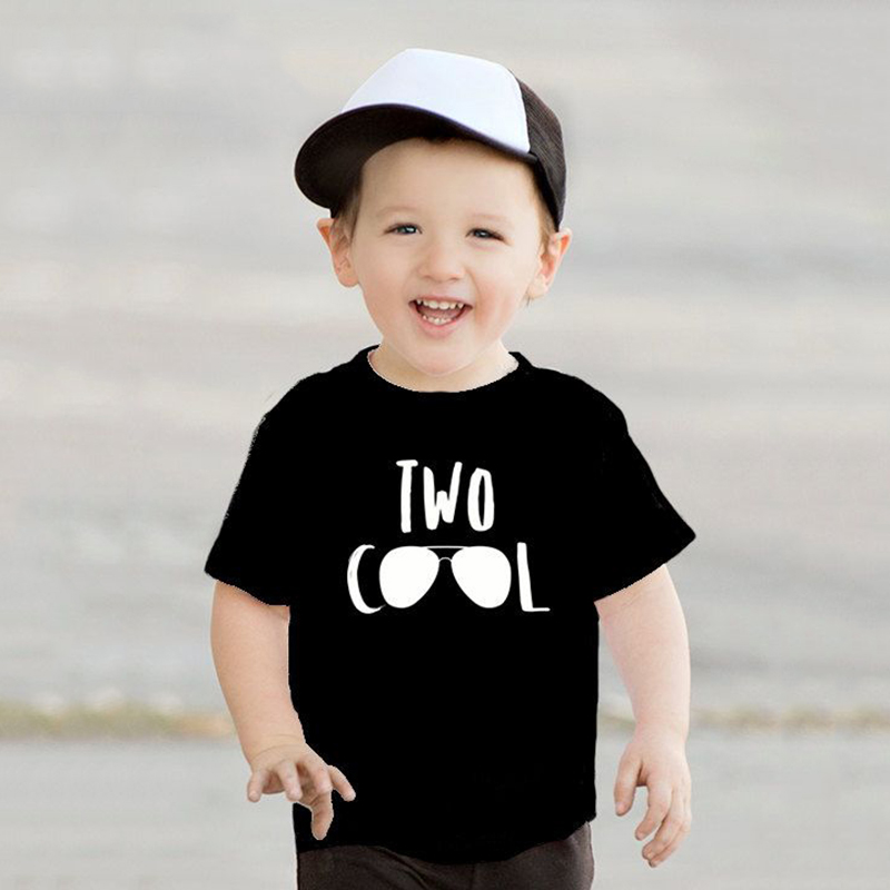 2 Year Old Kid Birthday Tshirt Two Cool Print Funny Toddler Boys Girls Short Sleeve Party T Shirt Children Cute T Shirt Clothes T Shirts Aliexpress