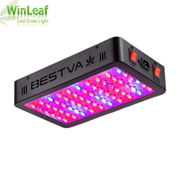 LED Grow Light Full Spectrum 600W 1000W VEG BLOOM Double Chip Red/Blue/UV/IR For Indoor Plants