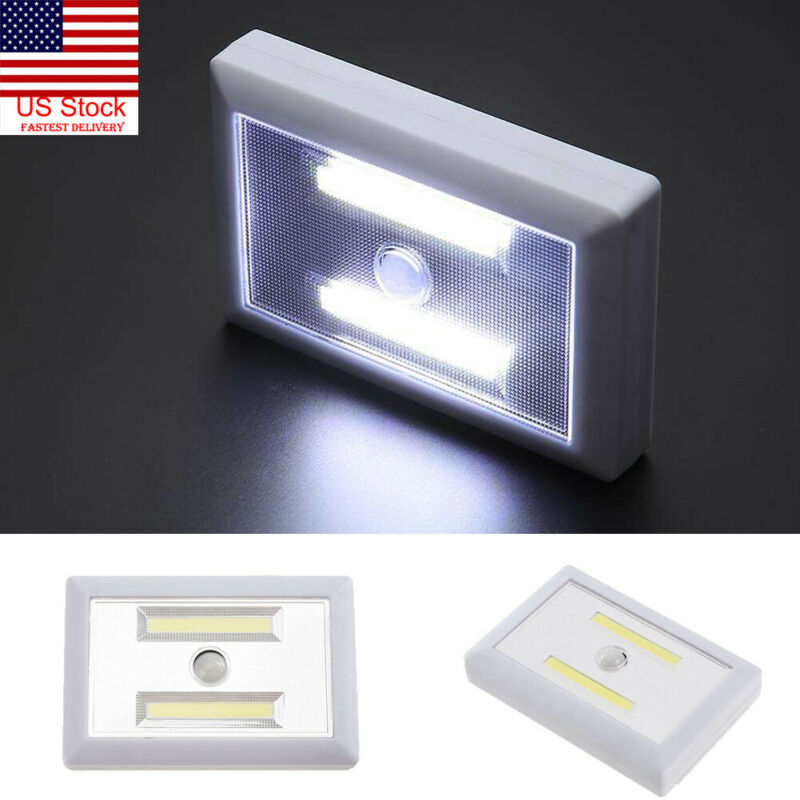 Waterproof LED Lamp Switch Wall Night Battery Operated Closet Emergency Light