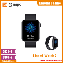 ساعة شاومي مي 2020 بنظام تحديد المواقع NFC واي فاي ESIM مكالمة هاتفية سوار أندرويد ساعة اليد الذكية الرياضة بلوتوث اللياقة البدنية رصد معدل ضربات القلب