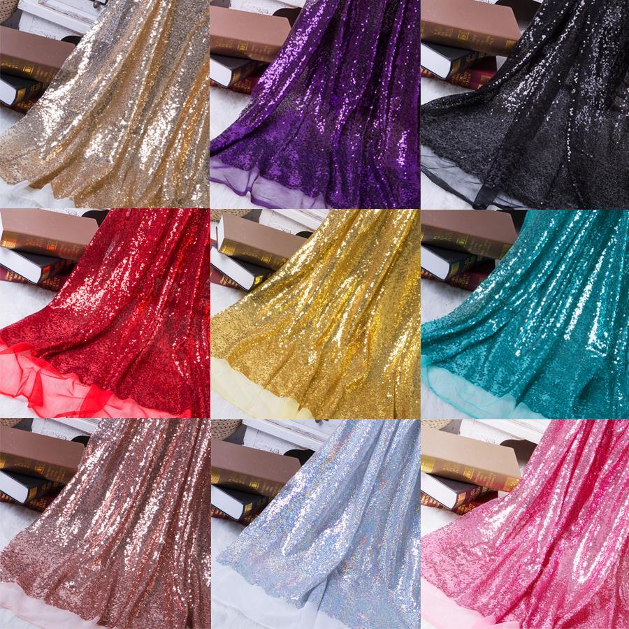 1 шт., ширина 1,3 м, блестящая ткань с блестками, цвета розового золота, серебра, блестящая ткань для одежды, для сцены, вечеринки, свадьбы, DIV, ук...